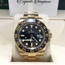 Rolex 116718LN Yellow gold GMT-Master II 40mm