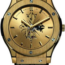Hublot Classic Fusion Ultra-Thin 515.VX.4001.LR.SHC13 New Yellow gold Manual winding