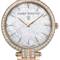 Harry Winston Rose gold Quartz 39mm new Premier