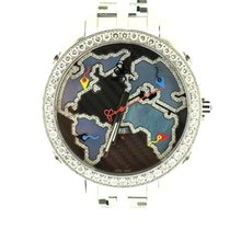 Jacob & Co. Five time zone- The World is Yours with diamonds 47mm