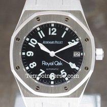 Audemars Piguet Royal Oak steel 36mm black  Military dial full...