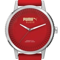Puma PU104101004 Suede Herrenuhr 46mm 10ATM