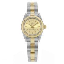 ロレックス (Rolex) Oyster Perpetual 76193 Steel and Gold Watch (17174)