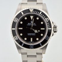 Rolex Submariner Stainless Steel Black Dial/bezel No Date 14060m
