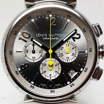 Louis Vuitton Steel Automatic Tambour LV 277 pre-owned