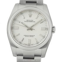 Rolex Oyster Perpetual 36 Steel 36mm White United States of America, New York, New York
