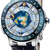 Ulysse Nardin Platinum Automatic Mother of pearl 46mm new Moonstruck