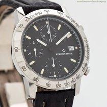 Eterna Kontiki Steel 38mm Black No numerals United States of America, California, Beverly Hills