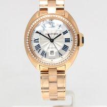 Cartier Clé de Cartier Oro rosa 31mm Plata Romanos