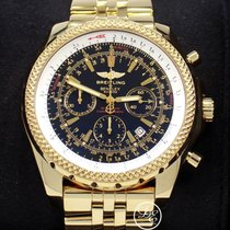 Breitling Bentley Motors Special Edition K25362 18k Yellow...
