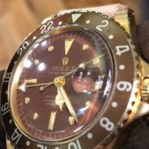 Rolex GMT-Master gold nipple dial brown