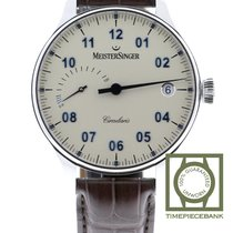 Meistersinger Circularis Steel 43mm White Arabic numerals