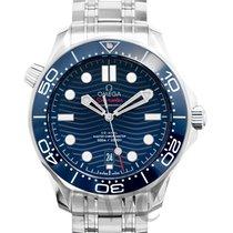 Omega Seamaster Diver 300 M Сталь 42mm Синий