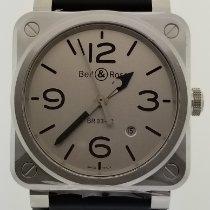 Bell & Ross BR 03-92 Steel Steel 42mm Grey Arabic numerals