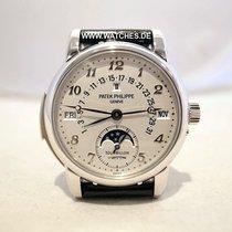 Patek Philippe Minute Repeater Perpetual Calendar pre-owned 37mm Platinum