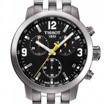 Tissot PRC 200 nuevo 2019 Cuarzo Cronógrafo Reloj con estuche y documentos originales T055.417.11.057.00