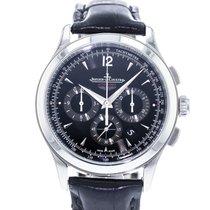 Jaeger-LeCoultre Master Chronograph Staal 40mm Zwart