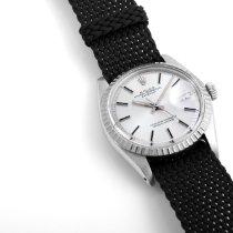 Rolex Datejust 1601-Silver-NATO 1970 rabljen