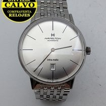 Hamilton Intra-Matic pre-owned 42mm Steel