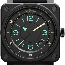 Bell & Ross BR 03 Ceramic 42mm Black United States of America, New York, Airmont