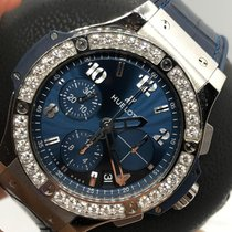 Hublot Big Bang 41 mm Steel 41mm Blue Arabic numerals UAE, Abu Dhabi