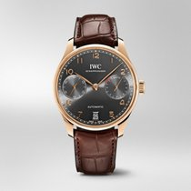 IWC Portuguese Automatic Rose gold 42.3mm Grey Arabic numerals United States of America, Florida, Miami
