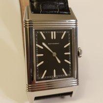 Jaeger-LeCoultre Grande Reverso Ultra Thin 1931 Acier Noir Sans chiffres