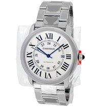 Cartier Ronde Solo de Cartier Steel 42mm Silver Roman numerals United States of America, California, Los Angeles