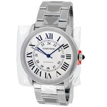 Cartier new Automatic 42mm Steel Sapphire Glass