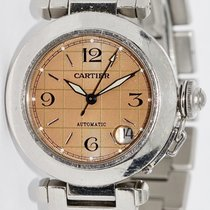 Cartier Pasha C Acero 35mm Bronce Arábigos