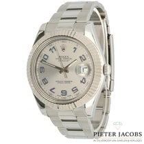 Rolex Datejust II Acero 41mm Plata