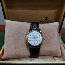 Rolex Rose gold Automatic pre-owned Oyster Perpetual