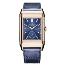 Jaeger-LeCoultre Rose gold Manual winding Blue 47mm new Reverso Duoface