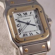 Cartier Santos (submodel) Meget god Stål 29mm Automatisk