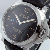 沛納海 Luminor Marina 1950 3 Days Automatic PAM 1312 全新 鋼 44mm 自動發條