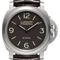 Panerai Luminor Base 8 Days Titane 44mm Noir Arabes France, Paris