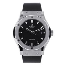 Hublot Classic Fusion 42mm Titanium on Rubber Strap UNWORN