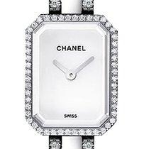 Chanel White gold Quartz White 15.2mm new Première