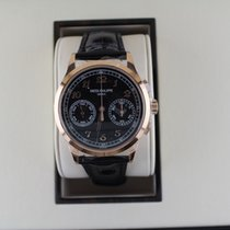 Patek Philippe Chronograph Red gold 39.4mm Black Arabic numerals United States of America, New York, New York