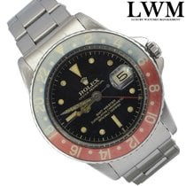 Rolex GMT Master 1675 Cornino PCG Gilt Chapter Ring Exclamation