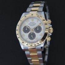 Rolex Oyster Perpetual Cosmograph Daytona Gold/Steel Panda Dial