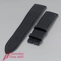 Jaeger-LeCoultre Uhrenband - Kroko-Leder-Band - matt-schwarz -...