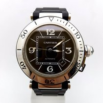 Cartier Pasha Seatimer Steel&Rubber 40.5mm Automatic