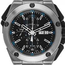 IWC Ingenieur Double Chronograph Day Date Titan Automatik...