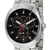 Rado D-Star Quartz Chronograph Ceramos & Steel Mens Watch...