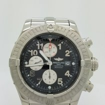 Breitling A13370 Super Avenger Chronograph Steel Xl 48mm...