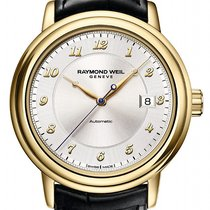 Raymond Weil Maestro -  Solid 18K Yellow Gold