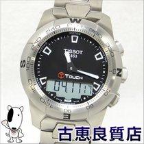 ティソ (Tissot) T-touch 2 Tea Touch Two-day Men's Watch Quartz T...