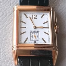 Jaeger-LeCoultre Grande Reverso Ultra Thin Duoface Roségold 46.8mm Weiß Keine Ziffern