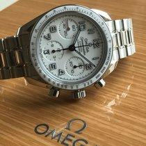 Omega Speedmaster Ladies Chronograph Stahl 38mm Weiß Arabisch